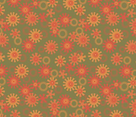 circles fabric by minyanna on Spoonflower - custom fabric