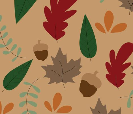Hello Fall fabric by sydneyy_ on Spoonflower - custom fabric