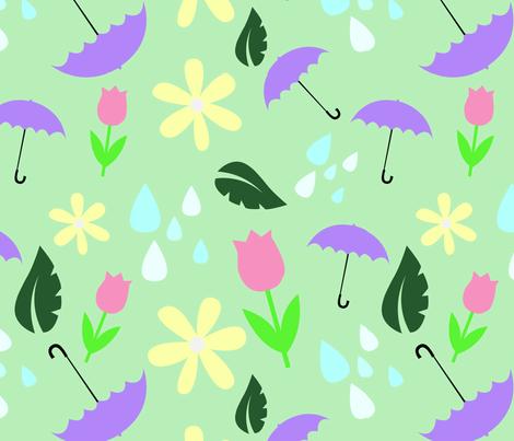Spring Feels fabric by sydneyy_ on Spoonflower - custom fabric