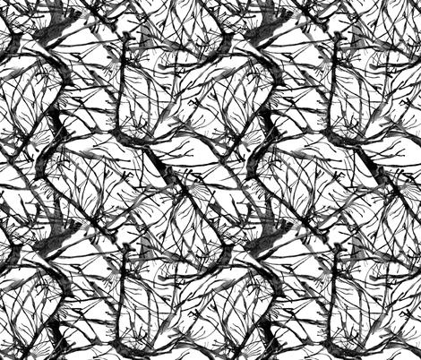 tempest-o-twigs_ink fabric by wren_leyland on Spoonflower - custom fabric
