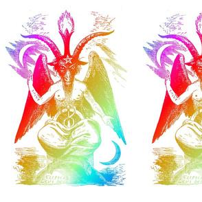 baphomet rainbow