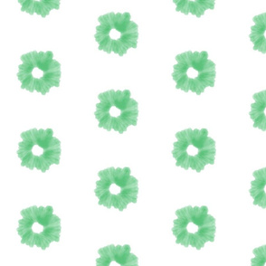Starburst Watercolor in Preppy Green