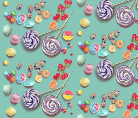 Sugar Circles fabric by allison_crary on Spoonflower - custom fabric