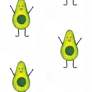 Excited Avocados
