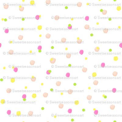 Pink Confetti Dot