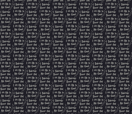 solemnly swear - potter fabric by blackrose37 on Spoonflower - custom fabric
