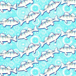 perch wave ice blue