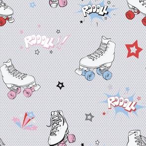 Comic Roller Skates