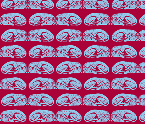 """Let sleeping dogs lie #6- 2"""" Martingale fabric by cloudsong_art on Spoonflower - custom fabric"""