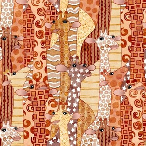 Savanna Giraffes