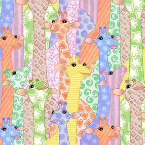 Sherbet Giraffes