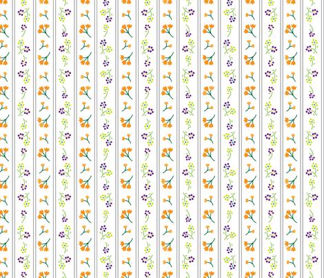 Wallflower fabric by angelatackett on Spoonflower - custom fabric