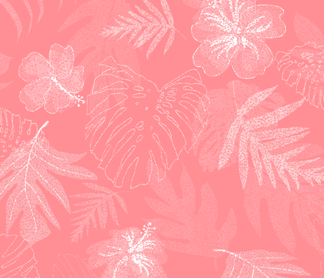 Hang Loose On Coastal Home Coral 250 Wallpaper Kadyson