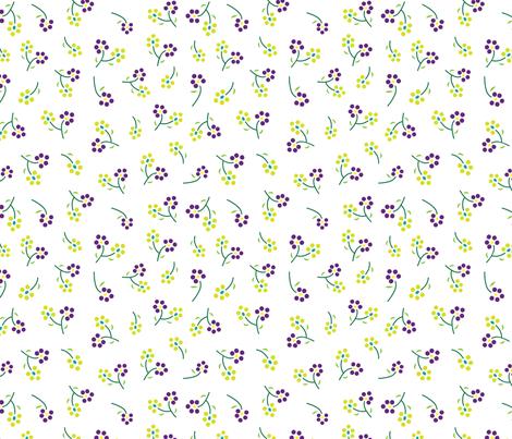 Mixed Berries (Sunrise) fabric by angelatackett on Spoonflower - custom fabric