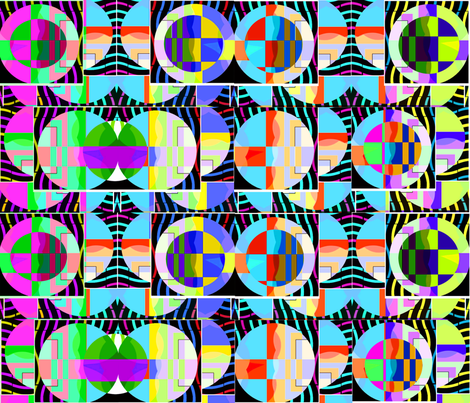CIRCLES IN CIRCLES fabric by soobloo on Spoonflower - custom fabric