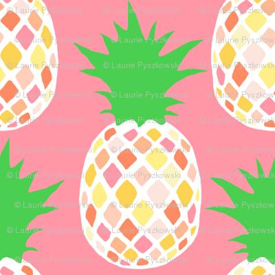 Simple Pineapple Pattern