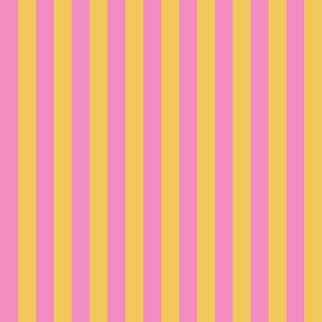 JP26 - Yellow and Pink basic stripe