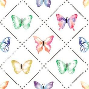 Butterfly Garden in Bright