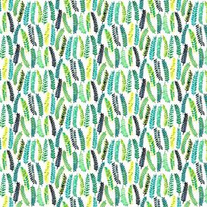 Turquoise Ferns