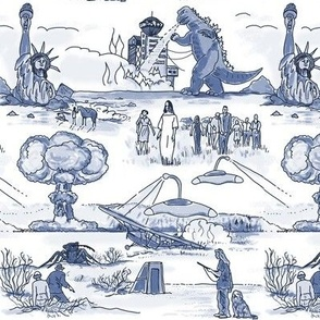 Cold War Apocalypse Toile - small