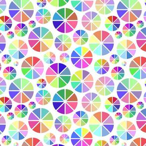 Colour wheel - block colours