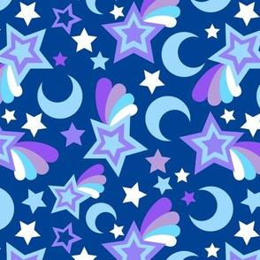 Blue Stars Small