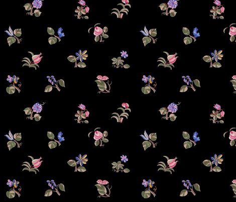Ra-thousand-flowers-black-peacoquette-designs-copyright-2018_shop_preview