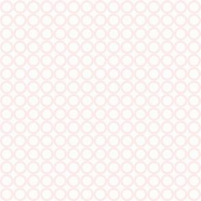 Round N Round: Millennial Pink 3 Circle Grid