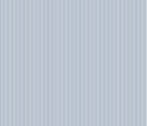 Beefy Pinstripe: Chambray Blue 10 Thin Stripe fabric by dept_6 on Spoonflower - custom fabric