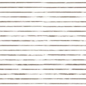 Brown Watercolor Stripes
