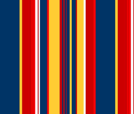 Abigail Anne:Medium Vertical Stripes fabric by tallulahdahling on Spoonflower - custom fabric
