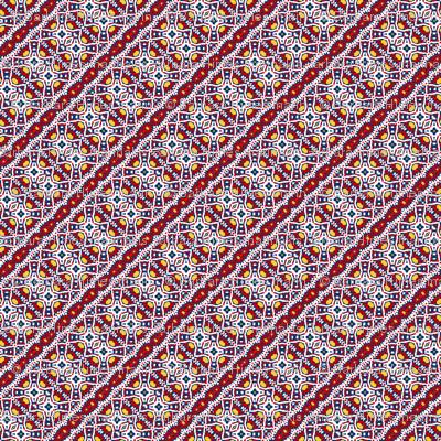 Abigail Anne: Diagonal Lace