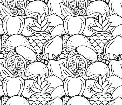 Rrrrrrrrrblack_and_white_fruit_fabric_shop_preview