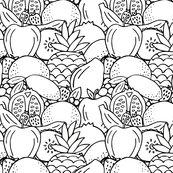 Rrrrrrrrrblack_and_white_fruit_fabric_shop_thumb