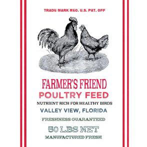 FARMERS FRIEND POULTRY FEED
