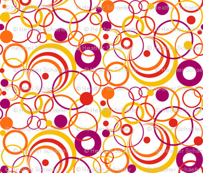 Circles Circus on White