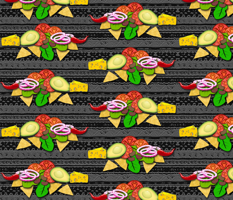 Mexican Tonight! fabric by de_zigns on Spoonflower - custom fabric