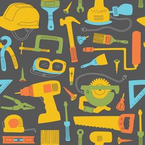 Maker Tools, Large - Dark Gray