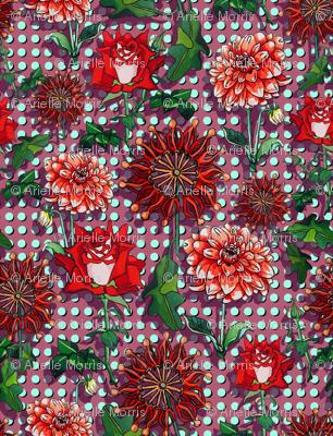 Spotty dot floral