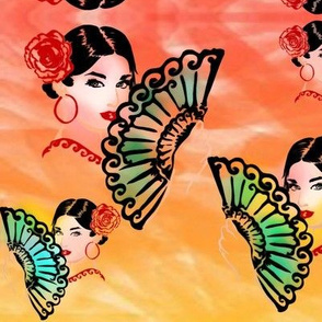 Flamenco lady 3