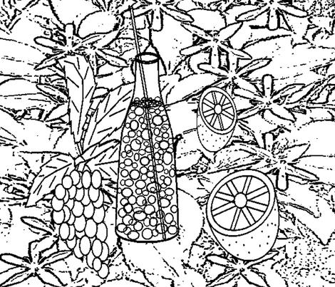 Fruity Bubbles fabric by b2b on Spoonflower - custom fabric