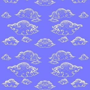 Dusky clouds-Lilac