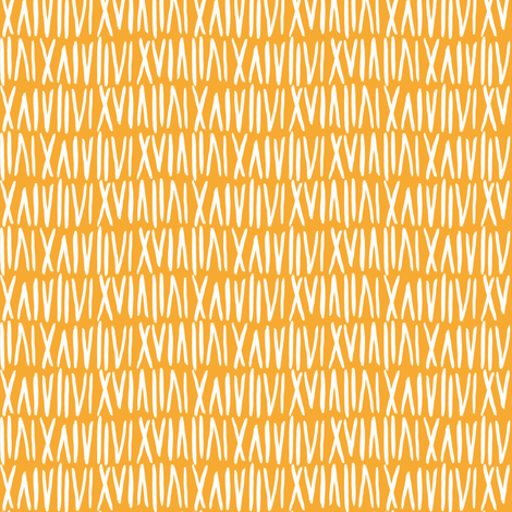 Numerals in Citrus fabric by house_designer on Spoonflower - custom fabric