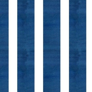 Indigo White Stripe