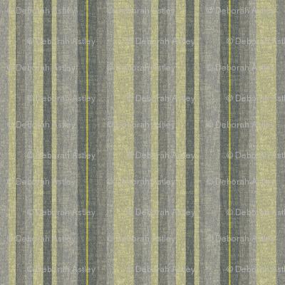 Stripes in Lemongrass and Gray