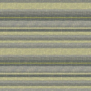 Stripes in Lemongrass and Gray