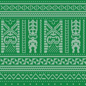 Tiki Knit 1b
