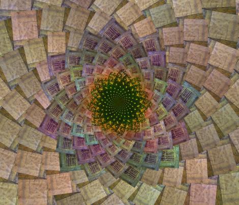 whorl fabric by leafgatherer on Spoonflower - custom fabric