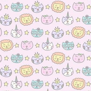 Meowgical Starry Kitties
