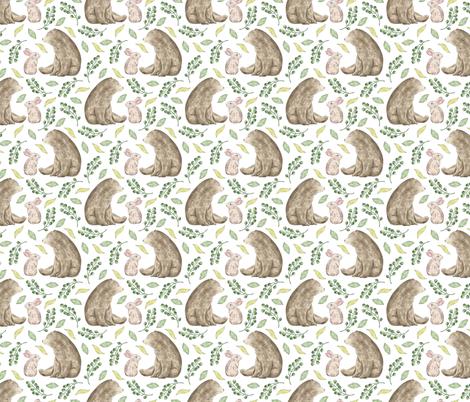 BEST_FRIENDS_PATTERN_8 fabric by mamabearsburrow on Spoonflower - custom fabric